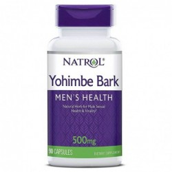 Natrol Yohimbe Bark 500mg | 90 caps