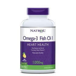 Natrol Omega-3 Fish Oil 1000mg | 60 sgels