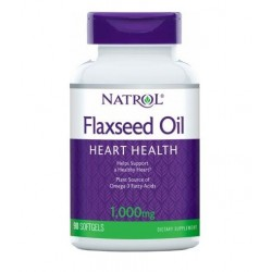 Natrol Flaxseed Oil 1000mg | 200 sgels