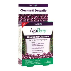 Natrol AcaiBerry Weekend Cleanse | 3x10 caps