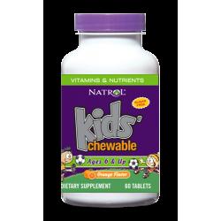 Natrol Kids Multivitamins Orange | 60 chew tabs