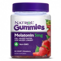 Natrol Melatonin Gummies 5mg | 90 gummies