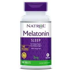 Natrol Melatonin Time Release 3mg | 100 tabs