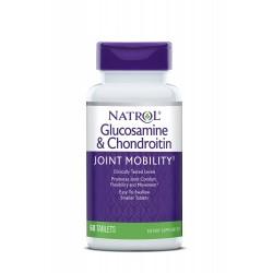 Natrol Glucosamine 1500mg Chondroitin 1200mg   60 tabs