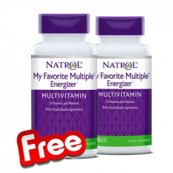 Natrol My Favorite Multiple Energizer 1+1 FREE
