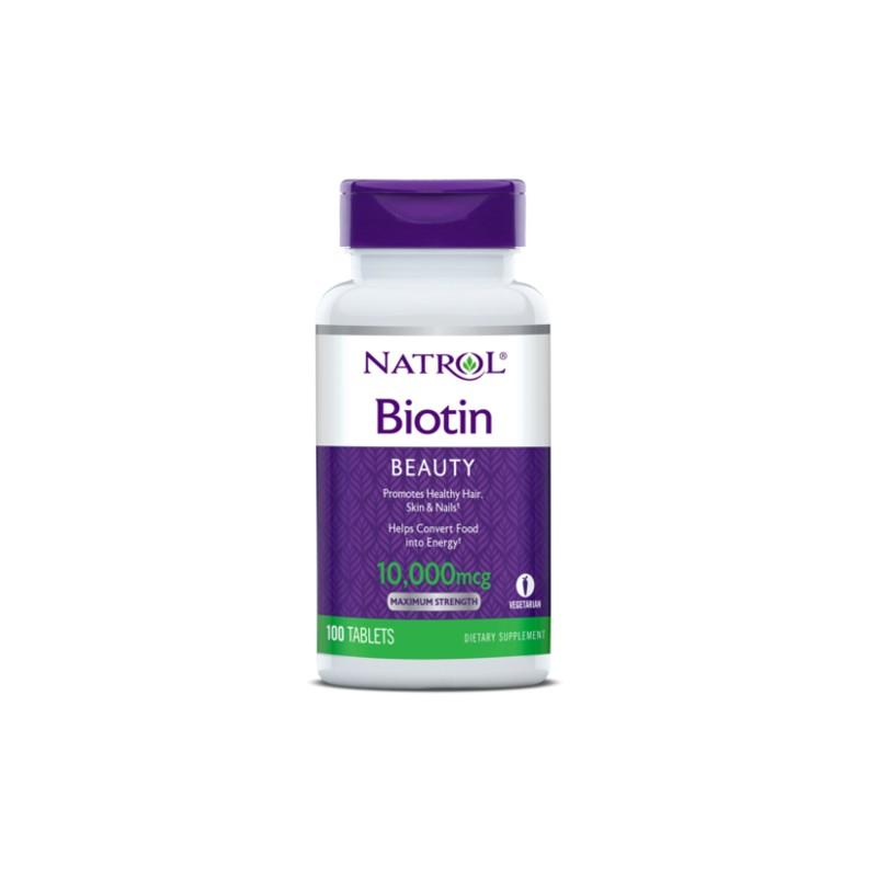 Natrol Biotin Maximum Strength 10,000mcg