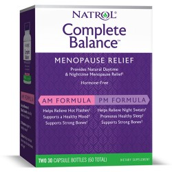 Natrol Complete Balance for Menopause AM/PM | 2x30 caps