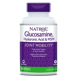 Natrol Glucosamine, Hyaluronic Acid & MSM