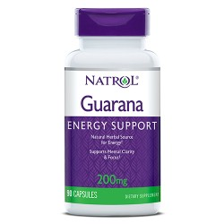 Natrol Guarana 200mg | 90 caps