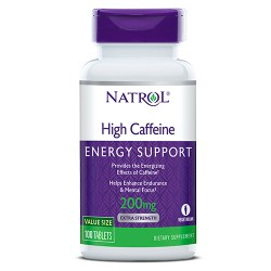 Natrol High Caffeine 200mg | 100 tabs