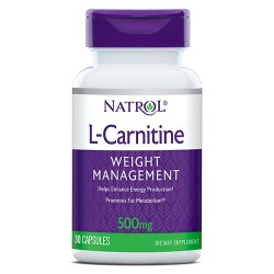 Natrol L-Carnitine 500mg | 30 caps