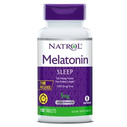 Natrol Melatonin Time Release 5mg | 100 tabs