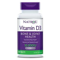 Natrol Vitamin D3 10,000 IU | 60 tabs