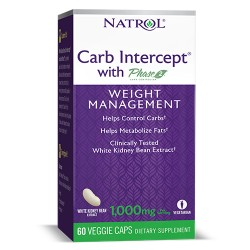 Natrol White Kidney Bean Carb Intercept | 60 caps